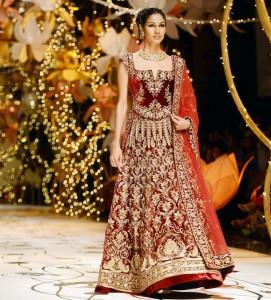 Beautiful Pakistani Bridal Dresses For Barat Day 2017 2018 fashion designer dresses