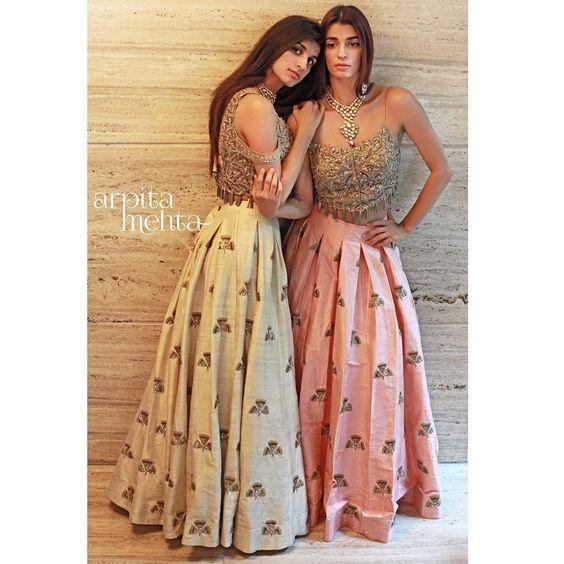 Party Wear Designer Blouse Designs for Lehenga 2017