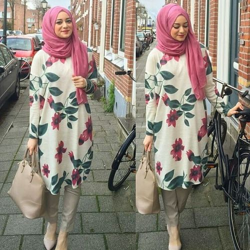 Hijab with Kmaeez