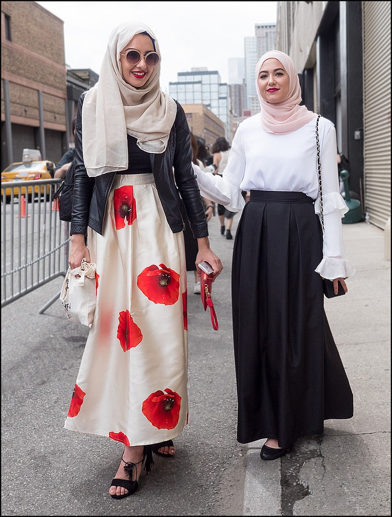 Hijab with skirt for modern girls