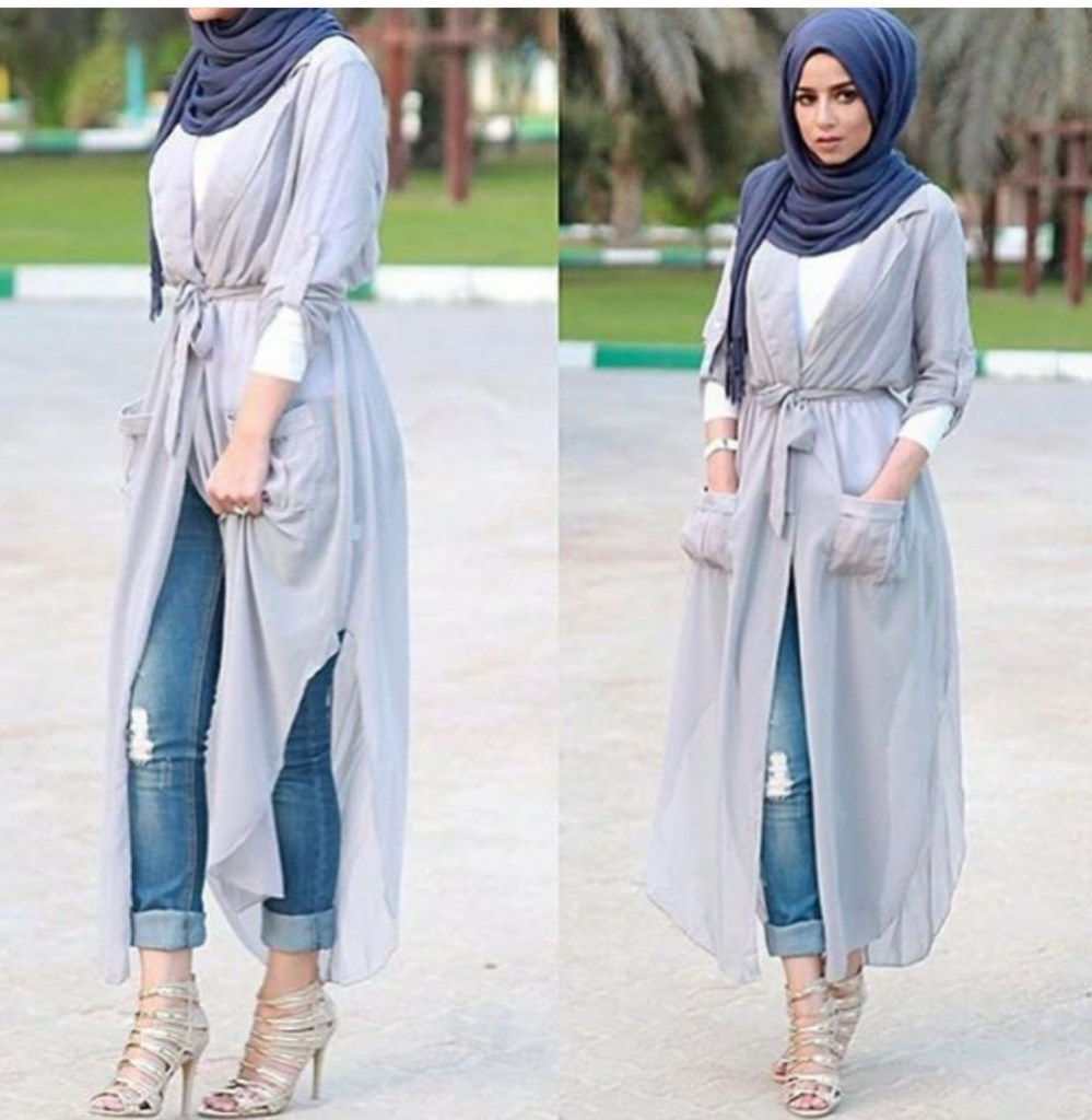 Hijab Jeans Outfit