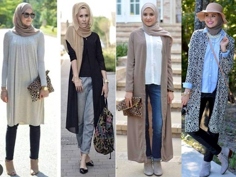 casual hijab outfit ideas and trends 2017