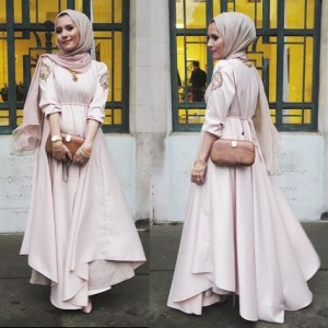 Hijab gown style