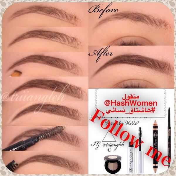 Pakistani Bridal Makeup Ideas 2017 2018 Step by Step Eyebrow