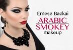 Arabic Smokey Eyes Step by Step Tutorial