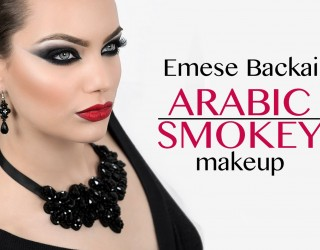 Simple Arabic Eye Makeup 2017 Tutorials for Party Wear