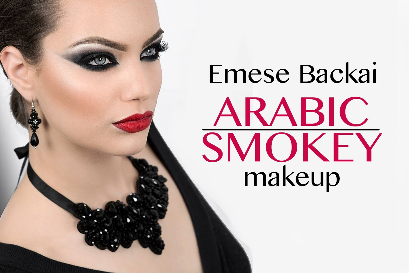 Arabic Smokey Eyes Step by Step Tutorial
