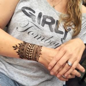 Gorgeous Wrist Henna Design for Eid