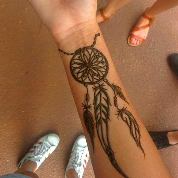 Dream Catcher Henna Design For Eid 2017