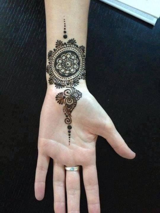 Wrist Henna Designs 2017