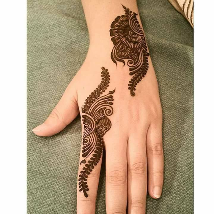 New Style Eid ul Adha Mehndi Pattern 2017