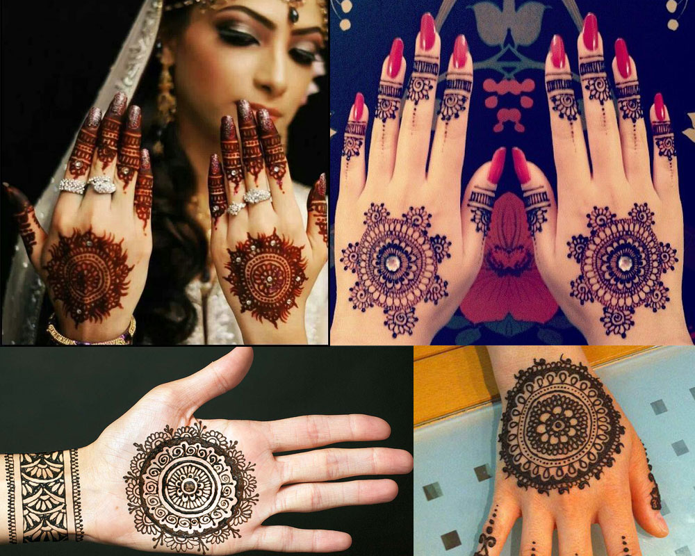 Gol Tikka Mehndi Designs for Eid ul Adha
