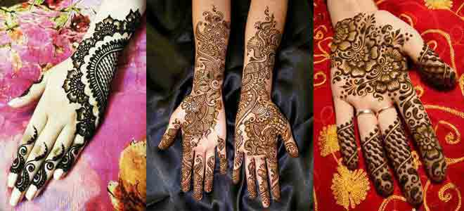 Eid Mehndi Designs for Full Hands 2017