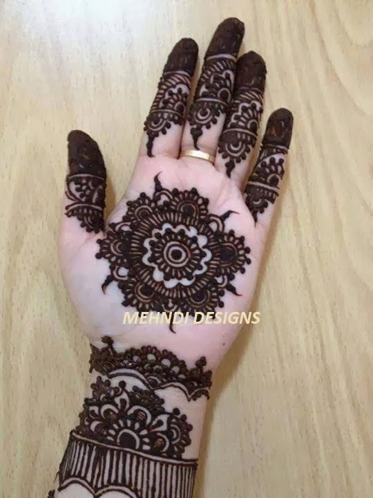 Pakistani Mehndi Design for Eid ul Adha