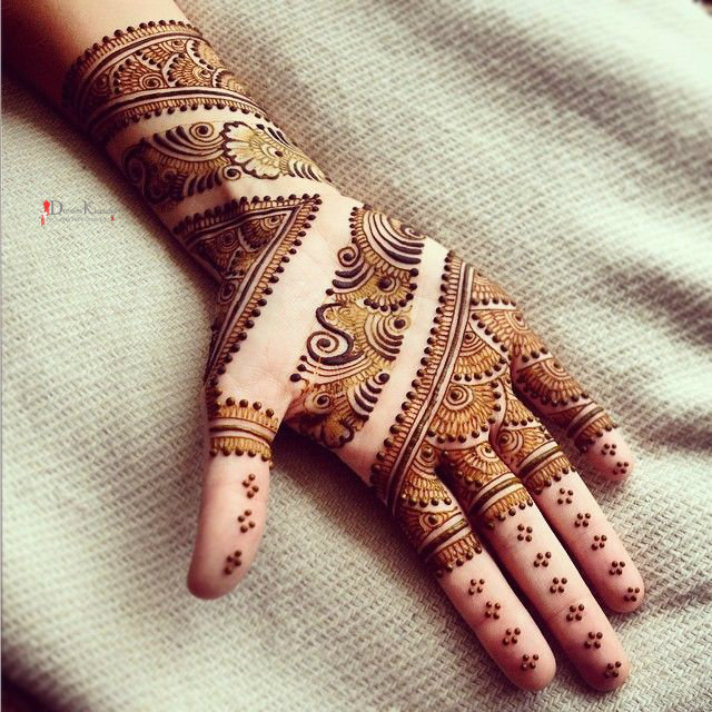 Indian Eid ul Adha Mehndi Design 2017