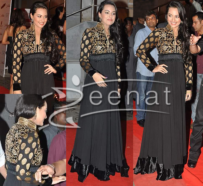 Party Wear Black Anarkali Designs for Pakistani and Indian Girls