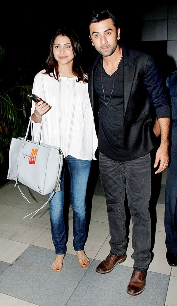 Ranbir Kapoor and Anushka Sharma in Pakistani Street Style Fashion