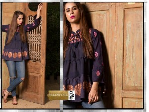 How to wear Peplum kurti with Jeans 2019