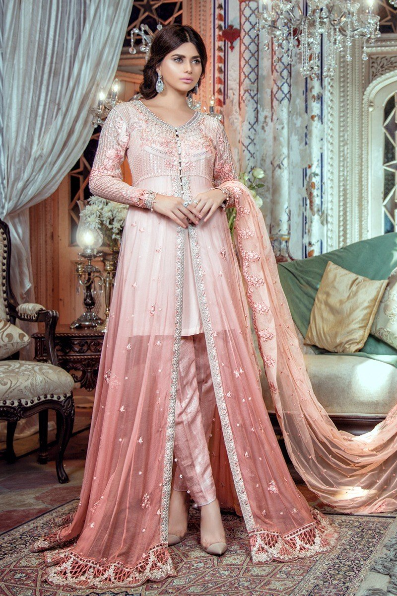 Latest maria b party wedding wear dresses 2017 2018 2 for Wedding party dresses 2017