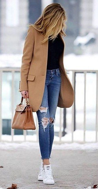 Latest Western Fall Winter Dress Styles 2017 2018 for Girls | FashionGlint
