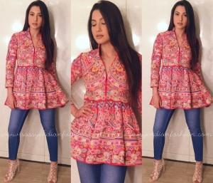 Peplum kurti with Jeans 2019