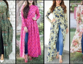 New Trendy Ways to Wear Kurti With Jeans 2018