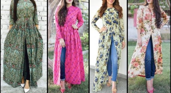 New Trendy Ways to Wear Kurti With Jeans 2019