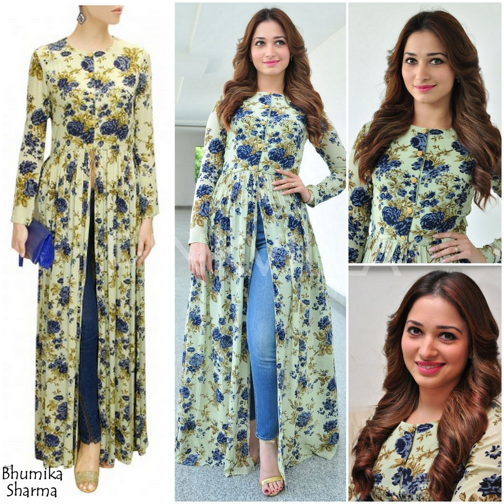 New Trendy Ways To Wear Kurti With Jeans 2018 Fashionglint