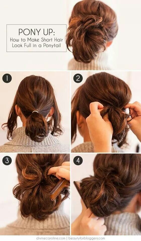 5 Cute Short Hairstyles For School To Do Yourself | FashionGlint