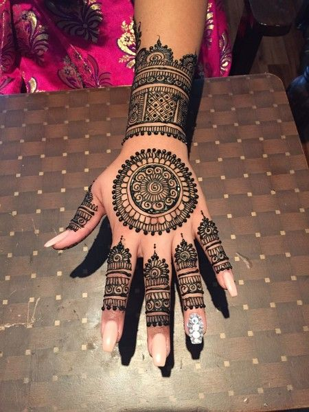 Best Henna Wedding Designs To Achieve Traditional Looks 22