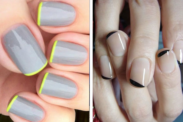 French Tipped DIY Nail Art Designs