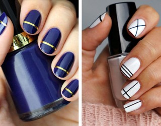 Diy Nail Art Designs That Are Super Easy To Do At Home 9 Fashionglint