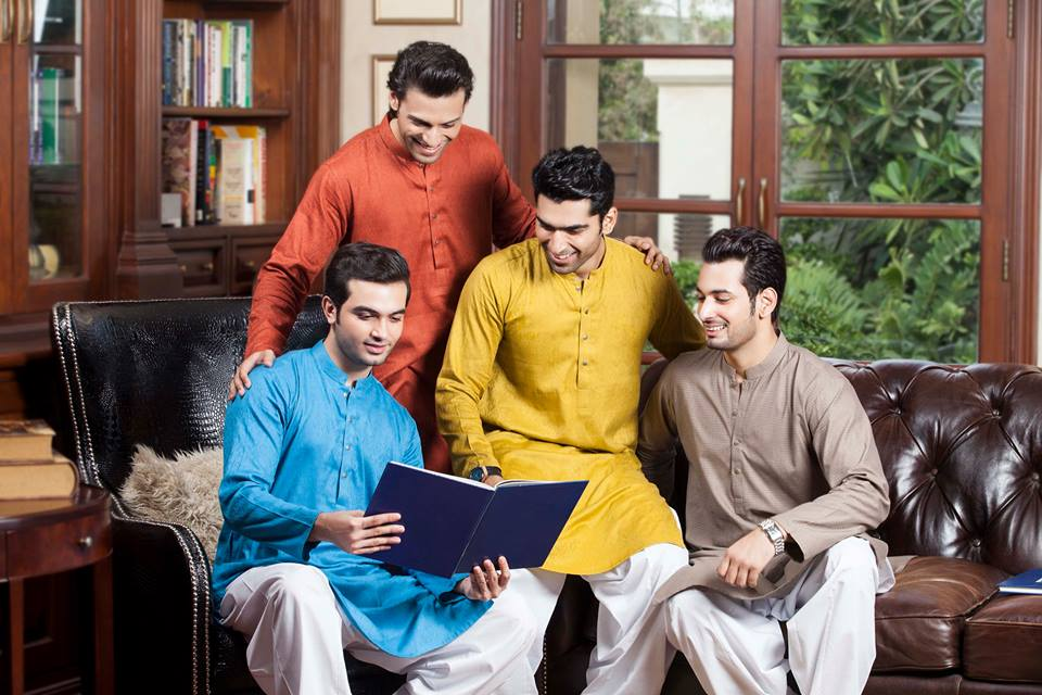 Men Mehndi Kurta Designs 2018 In Pakistan