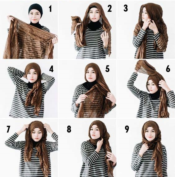 Modern Hijab Styles Step by Step Tutorials. Others Are Reading