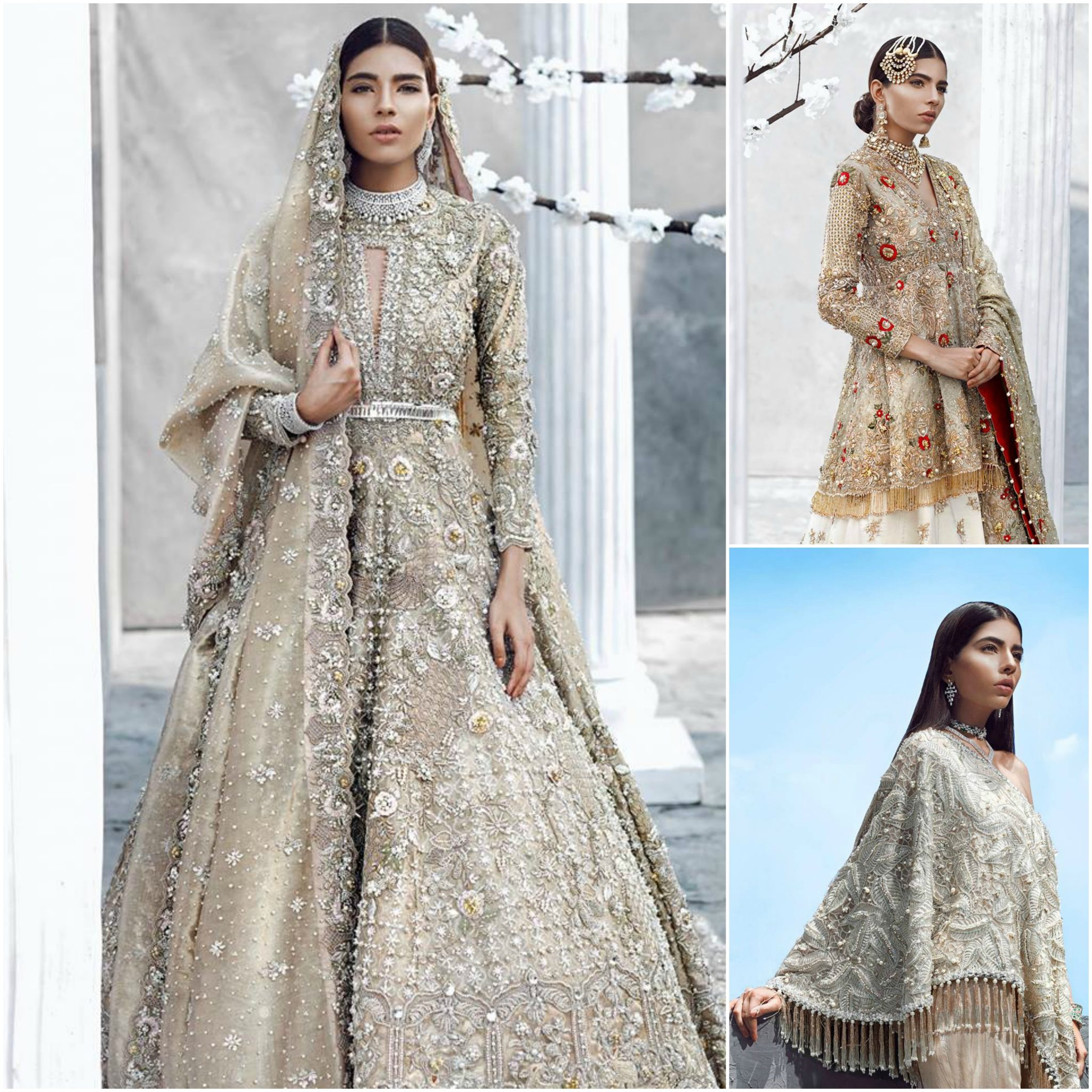 100 pakistani bridal dresses 2018 for wedding parties 19 for Pakistani dresses for wedding parties
