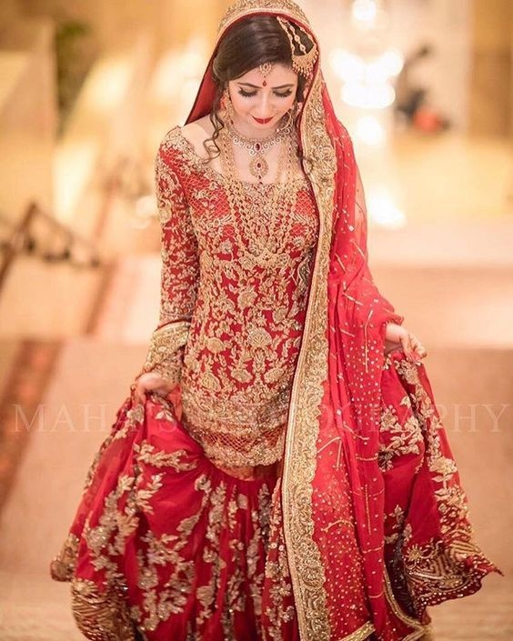 77a1ce0e327 100+ Pakistani Bridal Dresses 2018 for Wedding Parties