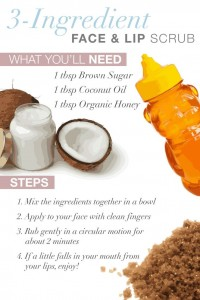 DIY Face Scrub Brown Sugar and Honey