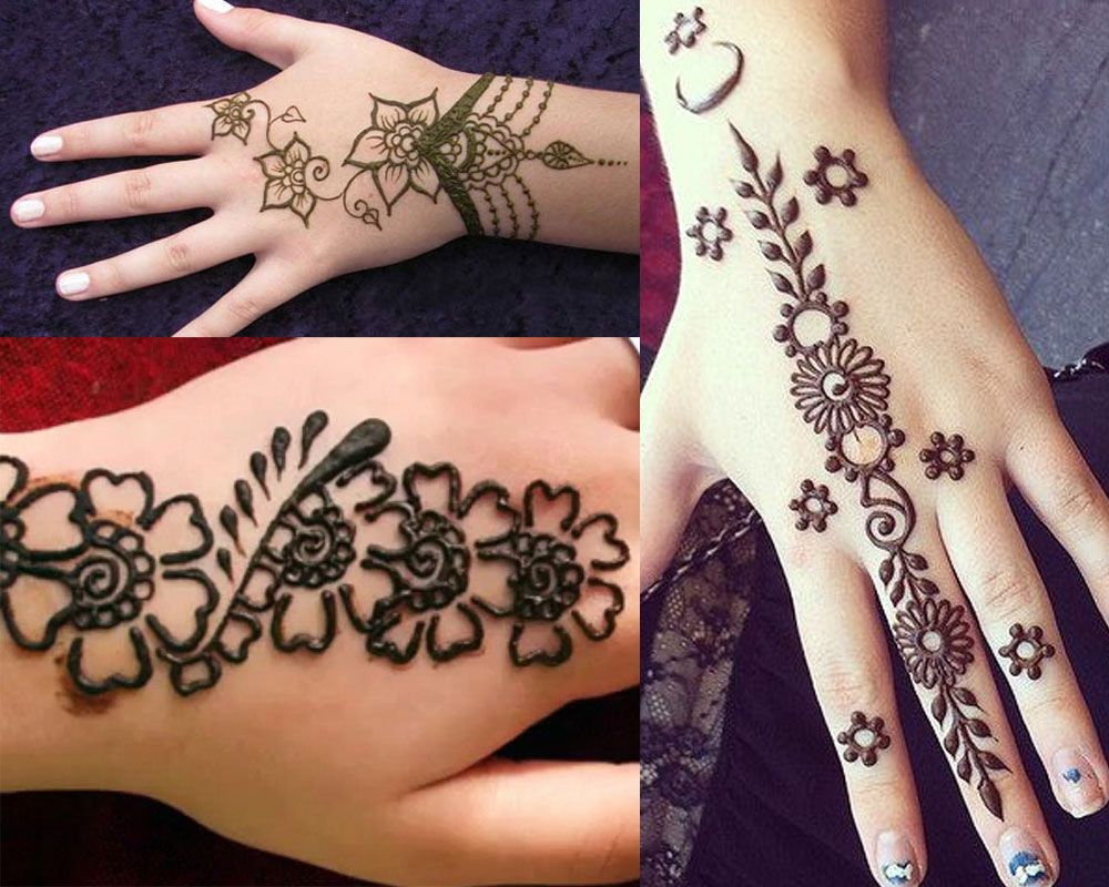 Easy Mehndi Designs Hands : Easy mehndi designs that are quick to try yourself fashionglint