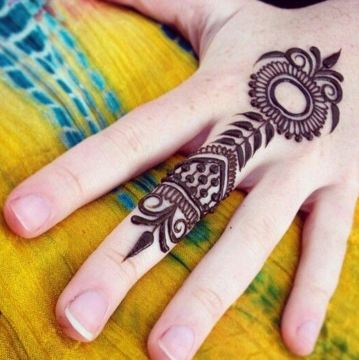 Simple Quick Mehndi Designs : Easy mehndi designs that are quick to try yourself