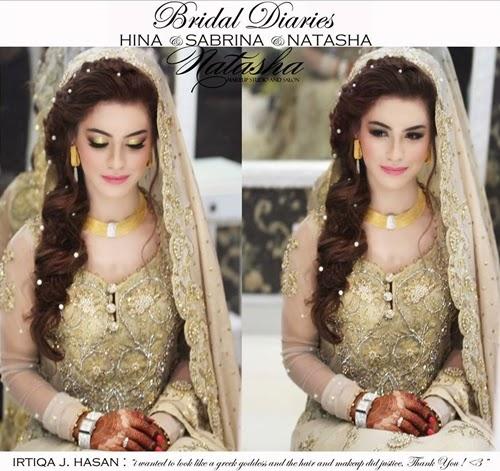 New Pakistani Bridal Hairstyles To Look Stunning Fashionglint