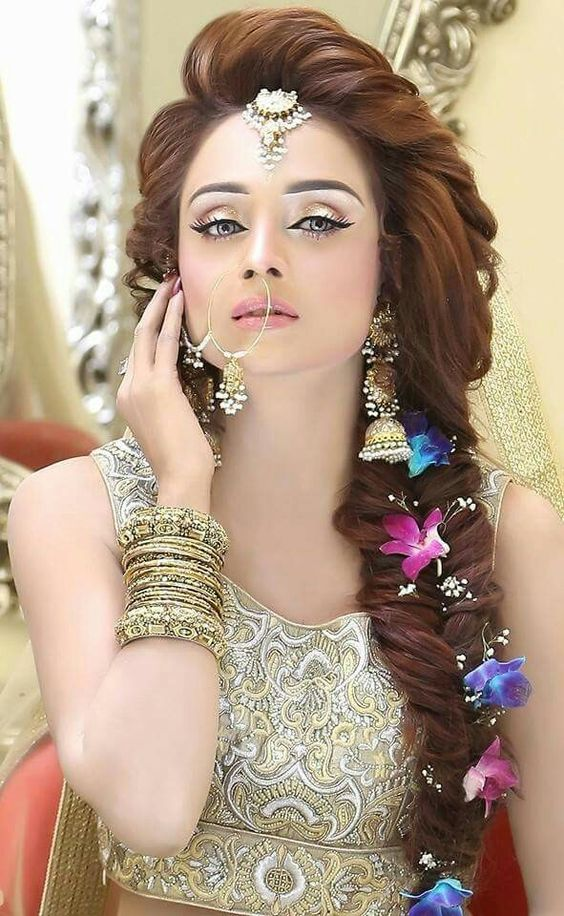 New Pakistani Bridal Hairstyles to Look Stunning ...