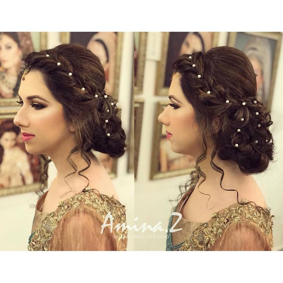 Wedding Hairstyle Pakistani: New Pakistani Bridal Hairstyles To Look Stunning