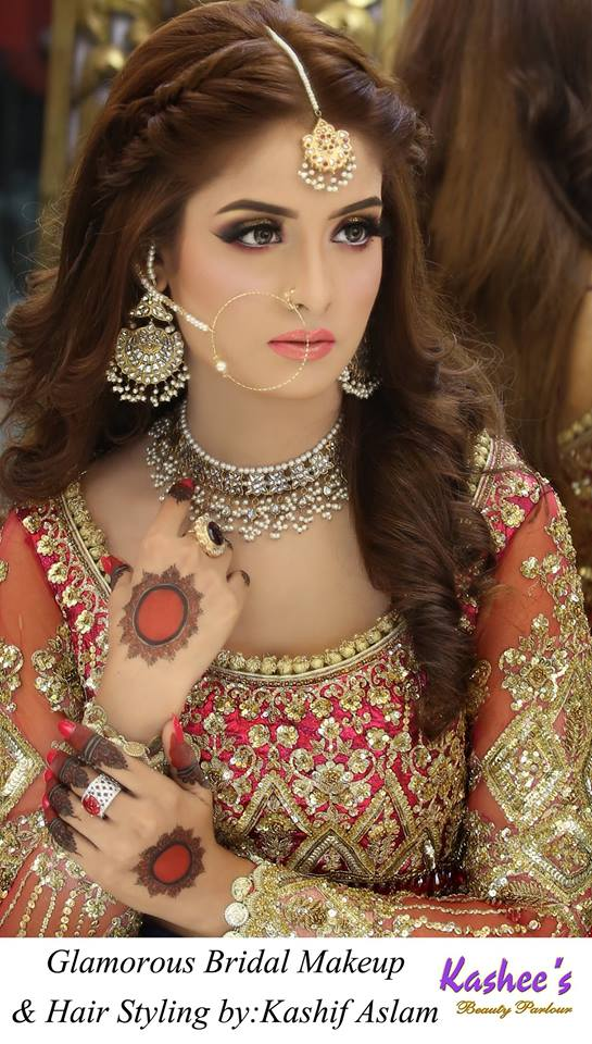 New Pakistani Bridal Hairstyles for Weddings