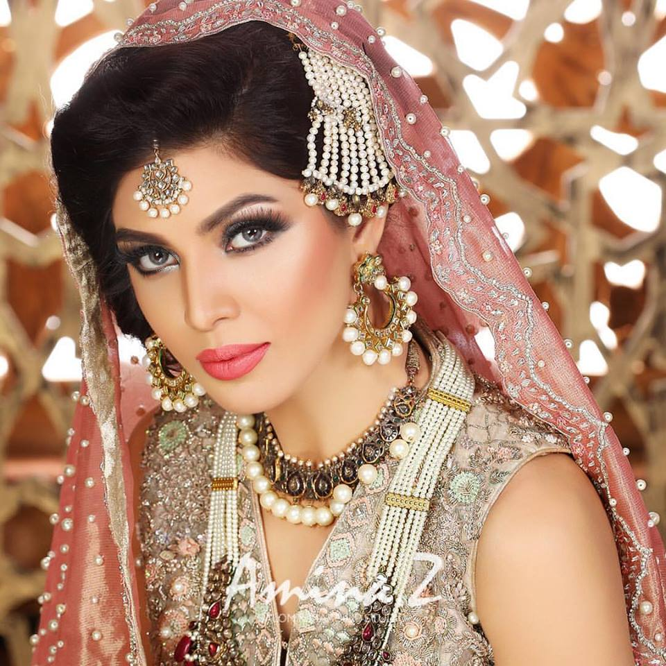 Engagement Hairstyles Pakistani: New Pakistani Bridal Hairstyles To Look Stunning