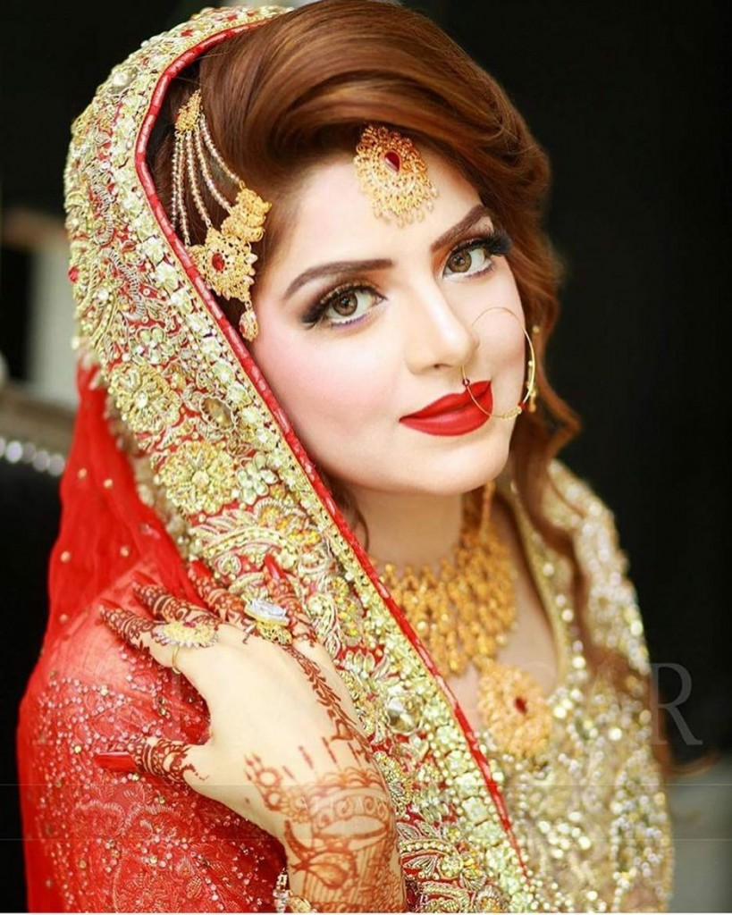 Pakistani bridal makeup tips tricks to look gorgeous fashionglint if you have arranged an appointment with a makeup artist for wedding makeup or planning to do makeover yourself these bridal makeup tips would be beneficial solutioingenieria Image collections