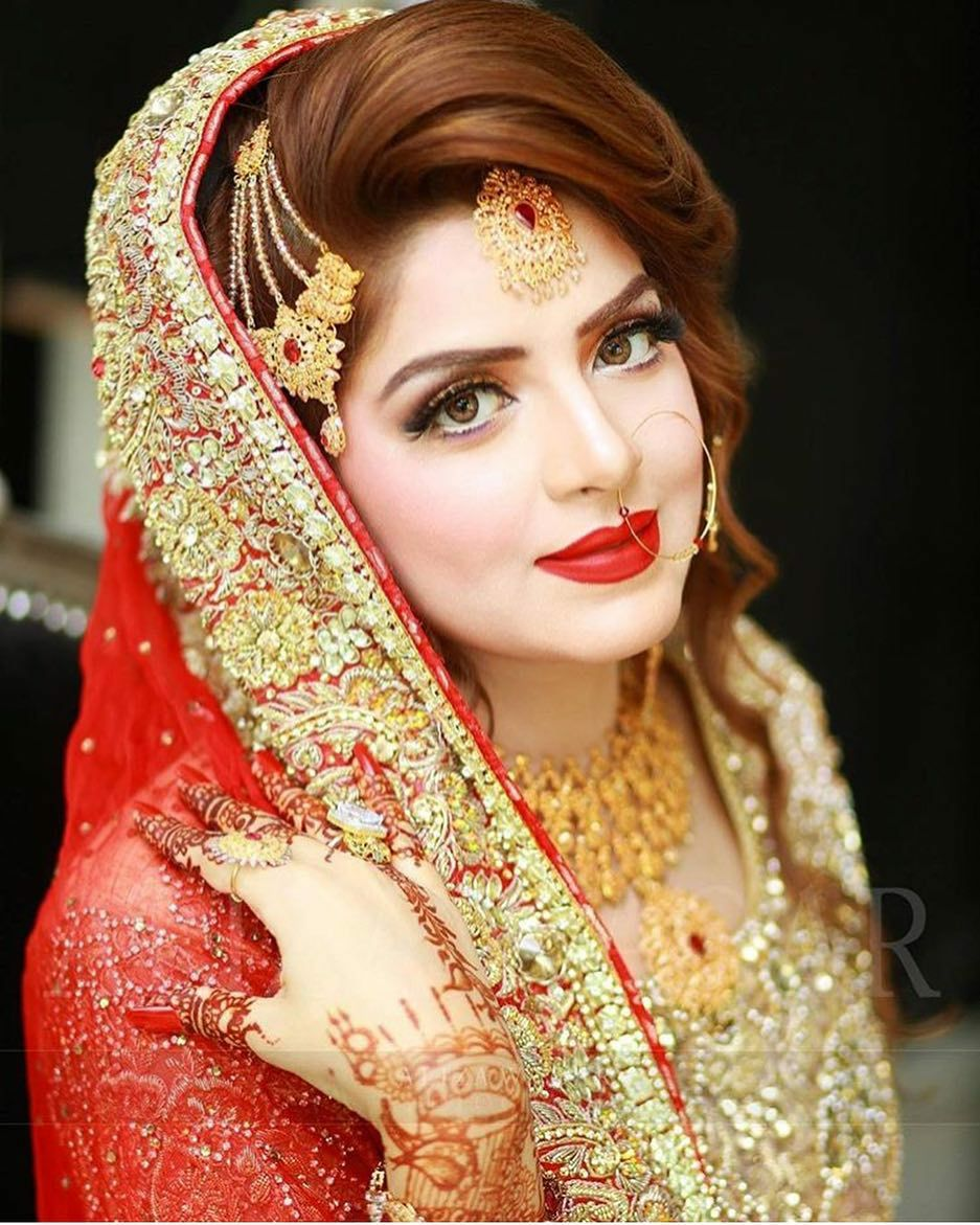 89 Pakistani Bridal Hairstyles With Dupatta The 25 Best