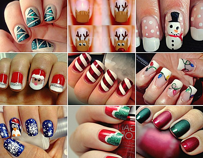 Easy Holiday Nail Art Designs Step by Step at Home