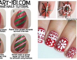 Holiday Nail Art Designs That Are Super Simple To Try