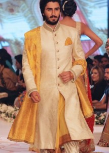 Pakistani Sherwani Designs for Groom