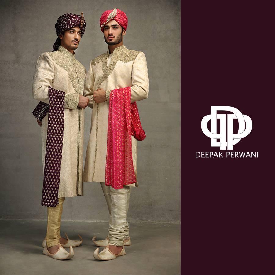 Mehndi Men Dress 2018 : Latest pakistani sherwani designs to look dapper